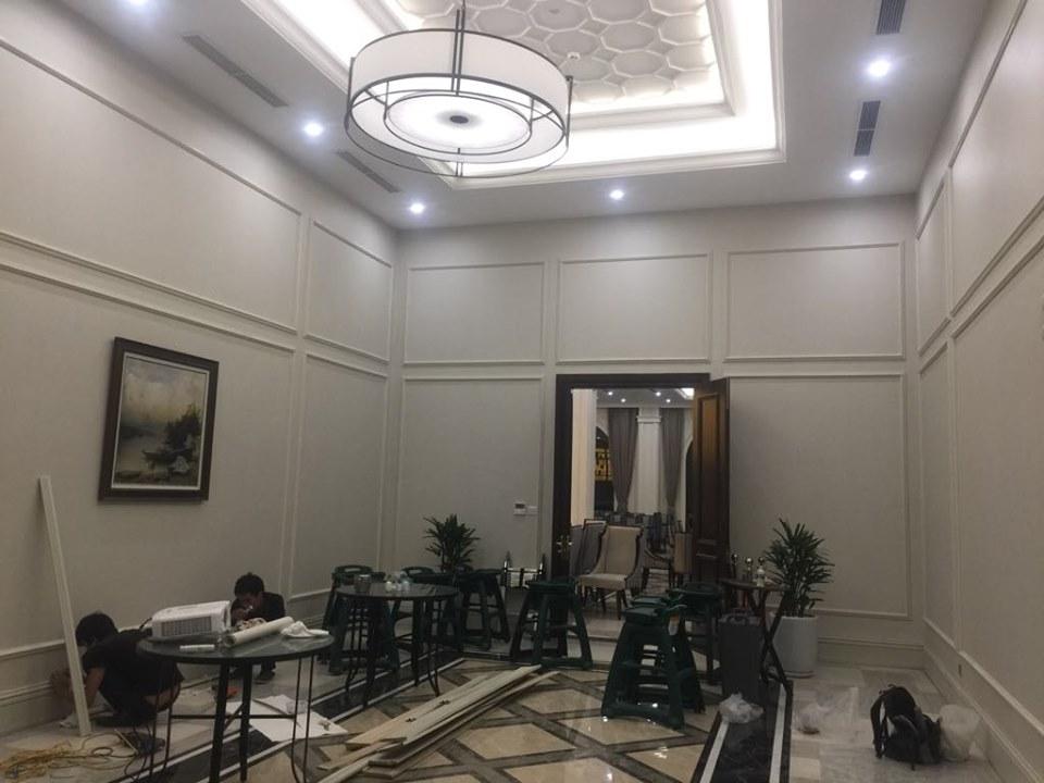 Phòng ăn vip của vinper Lộc Hà